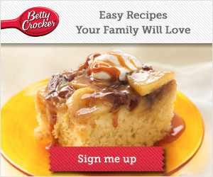 free samples recipes & more from Betty Crocker