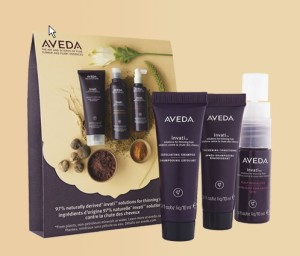 3 system sample pack from Aveda