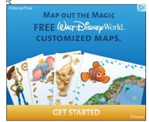 free customized Disney map