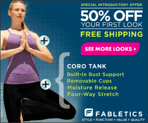 Expired: Fabletics: Great Outfits & Win Free Outfits!