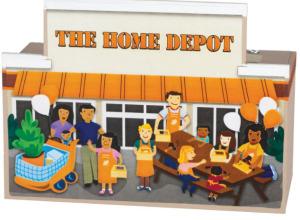 Home Depot: Build a Bank Kids Workshop