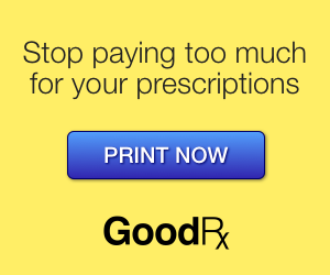 Expired: Free Coupons & Save 80% with GoodRx