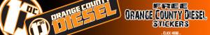 free OC Diesel sticker