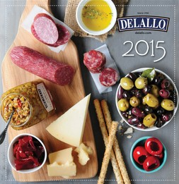 Expired: Possible Free 2015 DeLallo Calendar