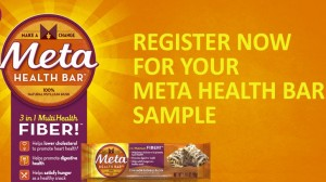 Free Metamucil Cinnamon Oatmeal Raisin Bar