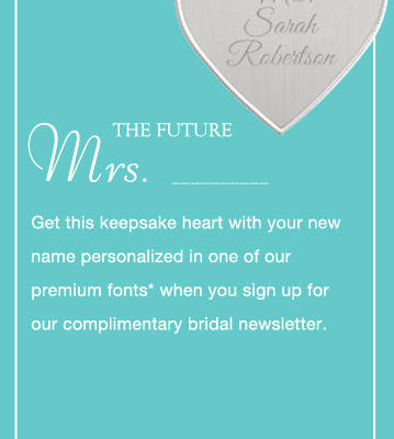 Expired: Free Keepsake Heart Necklace from Things Remembered
