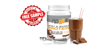 Expired: Free NoGii Whey and Quinoa protein powder
