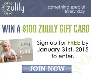 Expired: Win a $100 Zulily Gift Card!