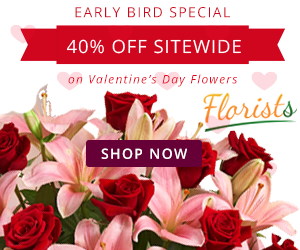 Expired: Save 40% off Valentine's Day Gifts & Flowers with Florist.com