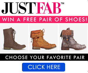 Win a free pair of JustFab shoes