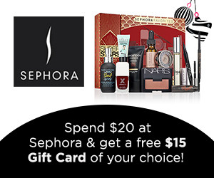 Expired:Free $15 Gift Card!