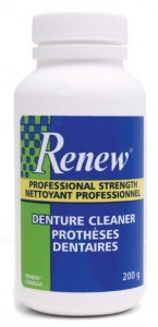 Expired: Free Sample of Renew Denture Cleaner