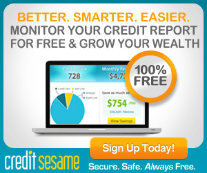 Free Credit Score with Credit Sesame