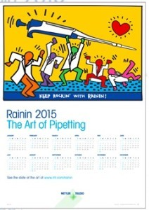 Expired: Free 2015 Rainin Pipette Calendar