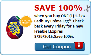 Expired: Free Cadbury Creme Egg!