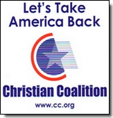 Free Christian Coalition Sticker