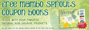 Free Mambo Sprouts coupon booklet
