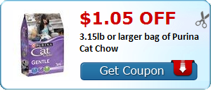 Expired: Purina Cat Chow Coupon