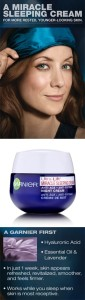Free Garnier Ulra-Lift Miracle Sleeping Cream Sample