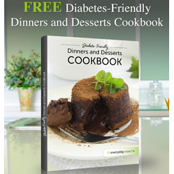 Expired: Free Diabetic Friendly Dinners and Desserts Cookbook