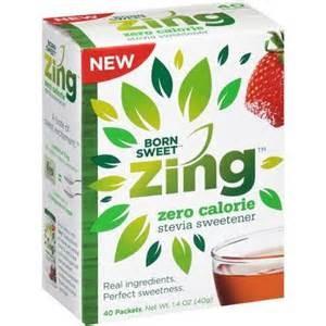 Expired:Free Zing Sweetener Sample