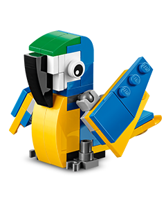 Expired: Free LEGO Parrot Model Build