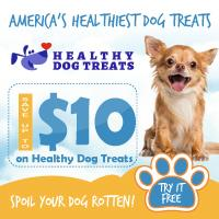 Expired:Free Trial of New Healthy Dog Treats