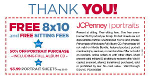Expired: Free Sitting and Photo for Military with JCP Coupon
