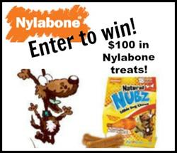 Expired: ENDS SOON! Win $100 in Nylabone Treats!