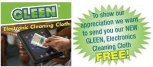 Expired: Free Gleen Electronic Cleaning Cloth