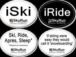 Free SkyRun Stickers