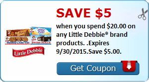 Expired: Huge Little Debbie Coupon