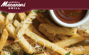 Expired: Free Parmesan Truffle Fries from Macaroni Grill