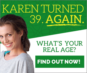 Find Out Your REAL AGE for Free!