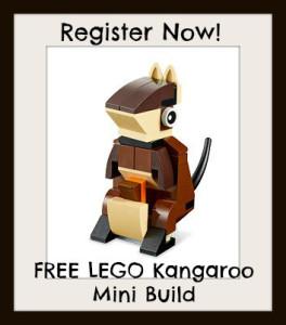 Expired:Free LEGO Kangaroo Mini Build