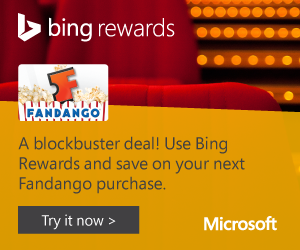 Expired: Earn Free Gift Cards & More with Bing Rewards