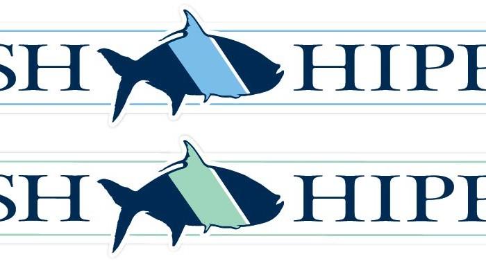 Free Fish Hippie Sticker