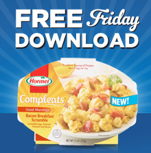 Expired:Freebie Friday! Free Hormel Compleats Meal