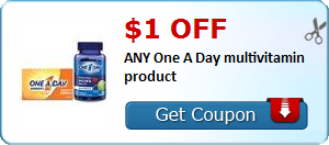 Expired: One A Day Multivitamin Coupon
