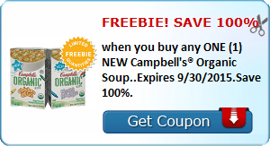 Expired: Free Campbell's Organic Soup