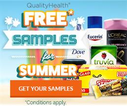 Expired: Free Summer Samples