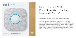 Expired: Win a Nest Protect Contest!