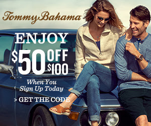 Expired:$50 FREE from Tommy Bahama!!