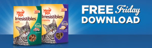 Expired:Free Meow Mix Irresistibles Cat Treats