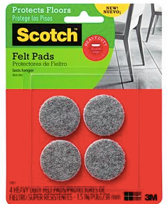 Free Scotch Felt Pads