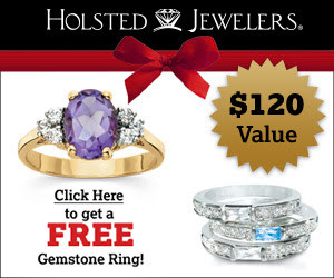 Choose your Free Rings from Holsted Jewelers - Seriously Free Stuff