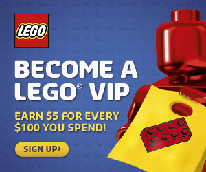 Become a LEGO VIP Today!