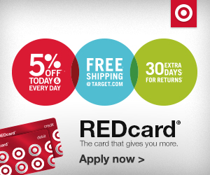 Get 5% Off with Target REDcard