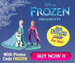 Free Disney Frozen Ornament