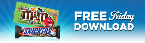 Expired:Free M&M's Crispy Bag or Snickers Rockin' Nut Road Bar
